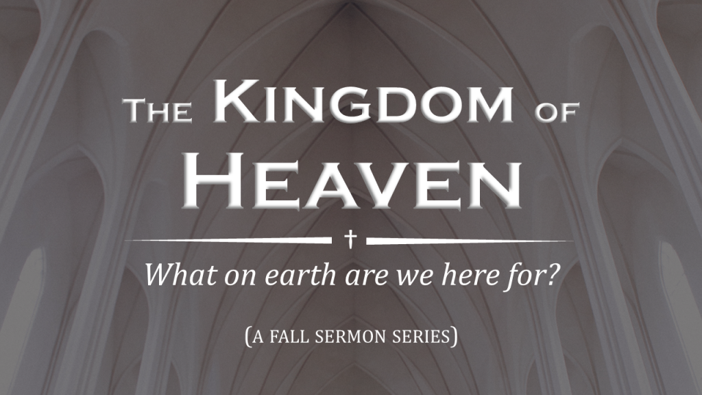 Fall Preaching Series